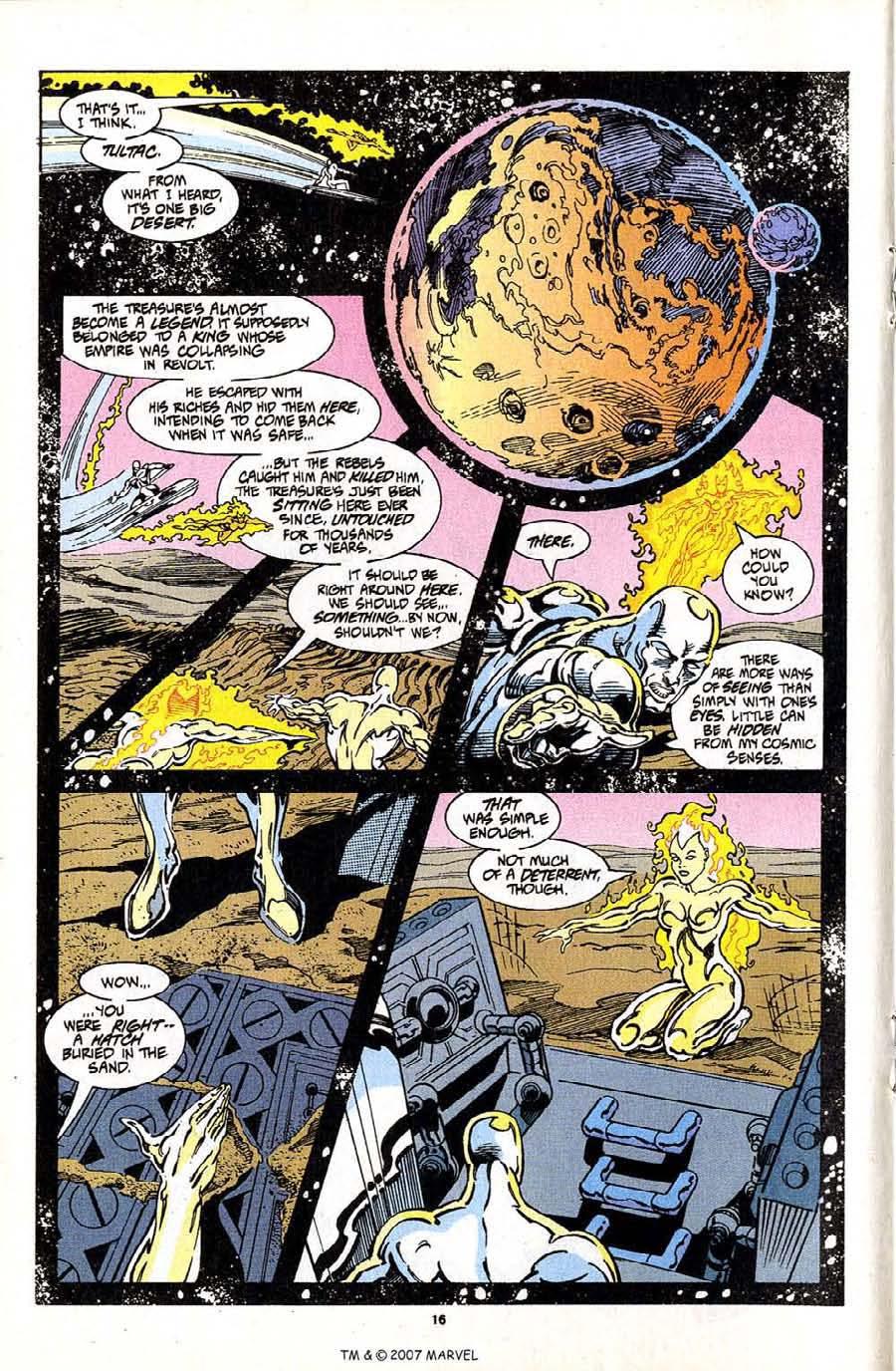Read online Silver Surfer (1987) comic -  Issue #97 - 18