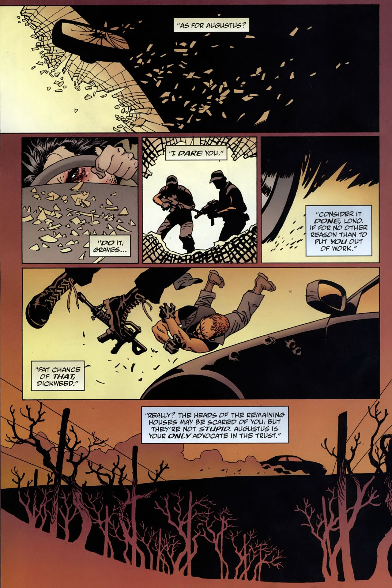 Read online 100 Bullets comic -  Issue #96 - 7