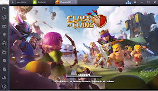 Cara Install dan Bermain Clash Of Clans di PC