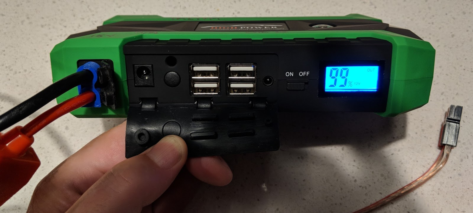 marxy's musing on technology: Car jump starter for portable