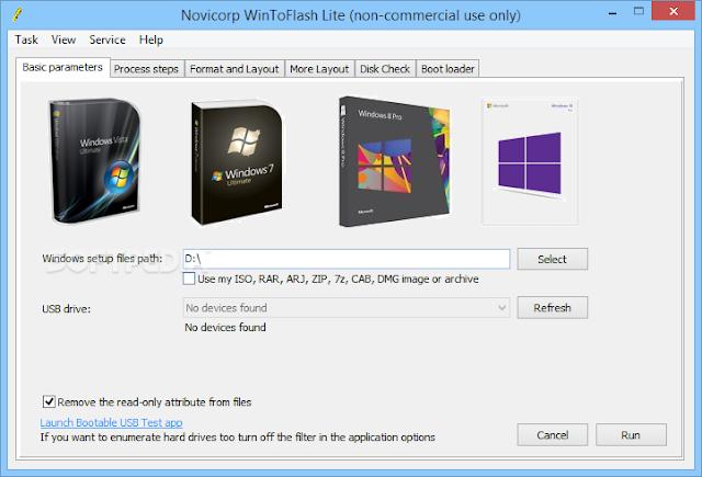 Tutorial Cara Instal Windows OS Lewat Flashdisk dengan Wintoflash
