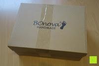 Schuhkarton: BOnova® Helsinki - Warme und kuschelige Hausschuhe aus echtem Lammfell in 5 Farben für Damen