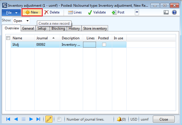 inventory adjustment journal entry