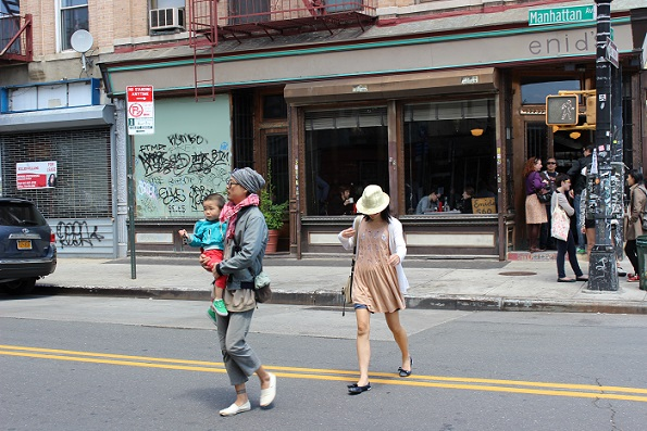Hipster family Williamsburg New York
