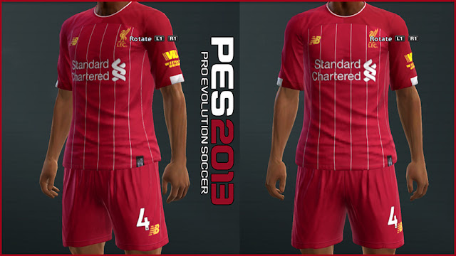 de62e0b72 PES 2013 Liverpool 2019 2020 Home Kit Leaked - Micano4u