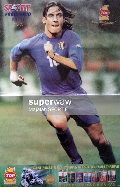 Francesco Totti (Italia 2001)