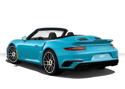 Porsche 911 Turbo S Cabriolet add extra power and pdcc, pasm