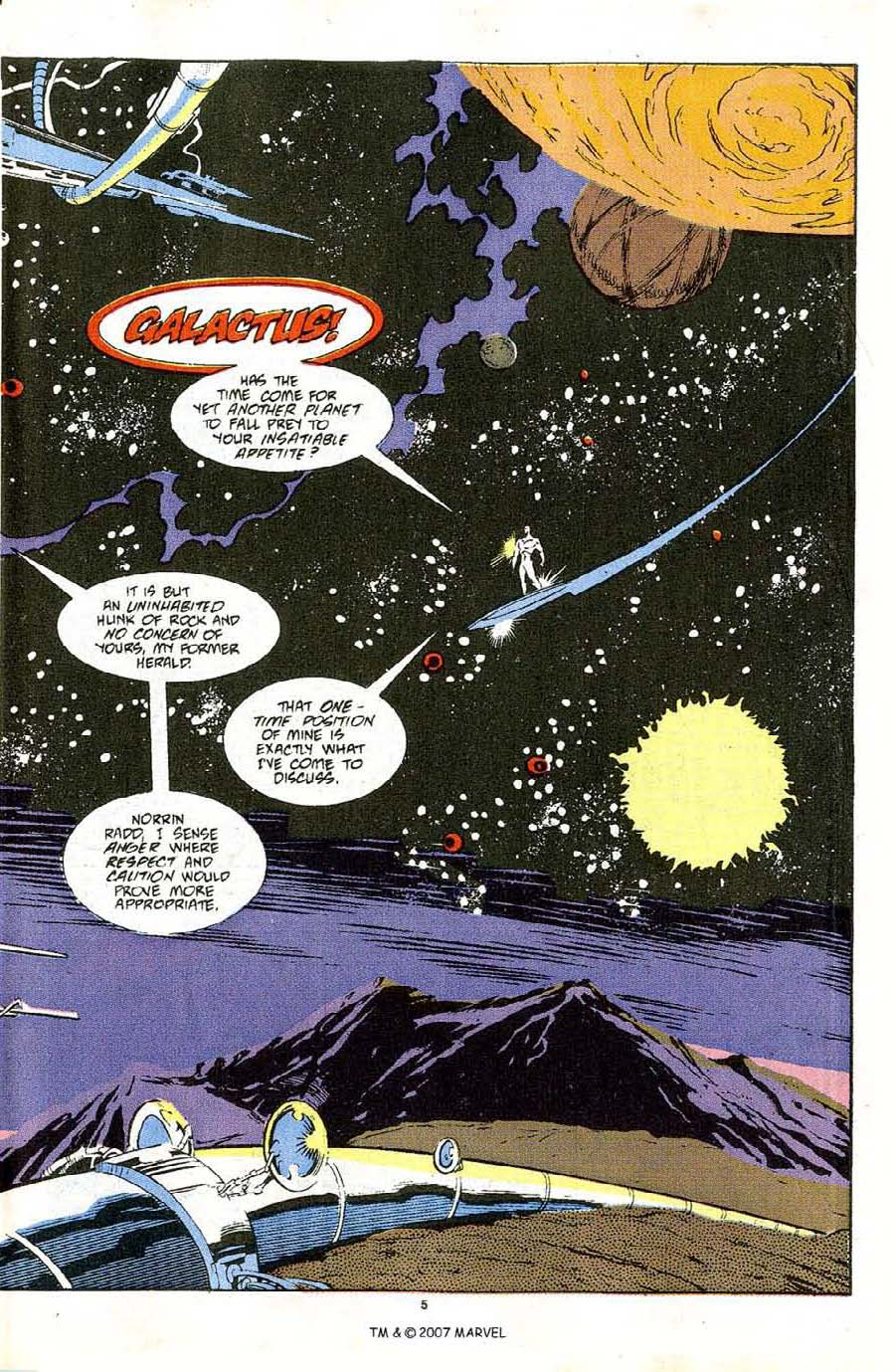 Read online Silver Surfer (1987) comic -  Issue #48 - 7