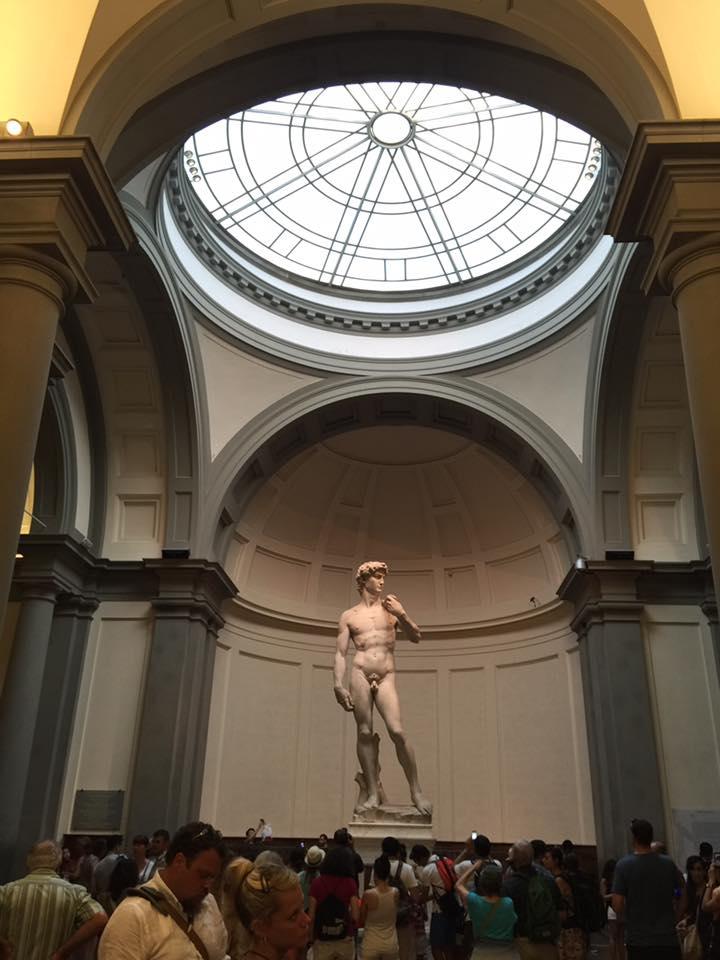 林公子生活遊記: 意大利 X 學院美術館 佛羅倫薩美術學院 真大衛像 Galleria dell'Accademia