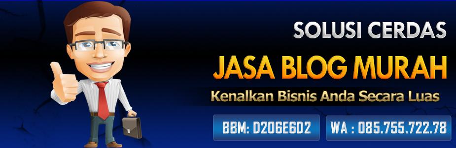jasa blog murah