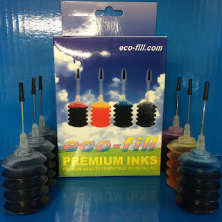 Eco Fill PGI-570BK CLI-571 BK/C/M/Y Refill Kit