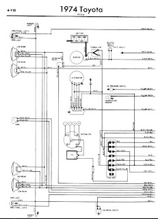 repair-manuals: Toyota Hilux 1974 Wiring Diagram
