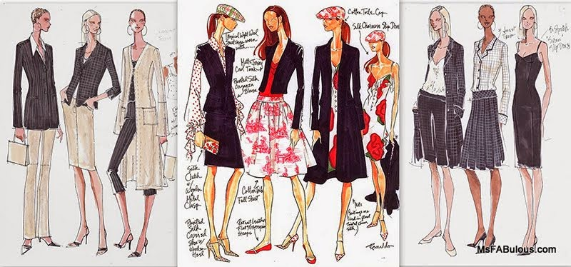 Ms Fabulous Fashion Sketch Workshop With Renaldo Barnette