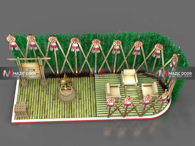 Bamboo Exhibition Stall Design 04
