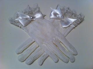 kırık beyaz dantel eldiven satın al gelinlik eldiveni