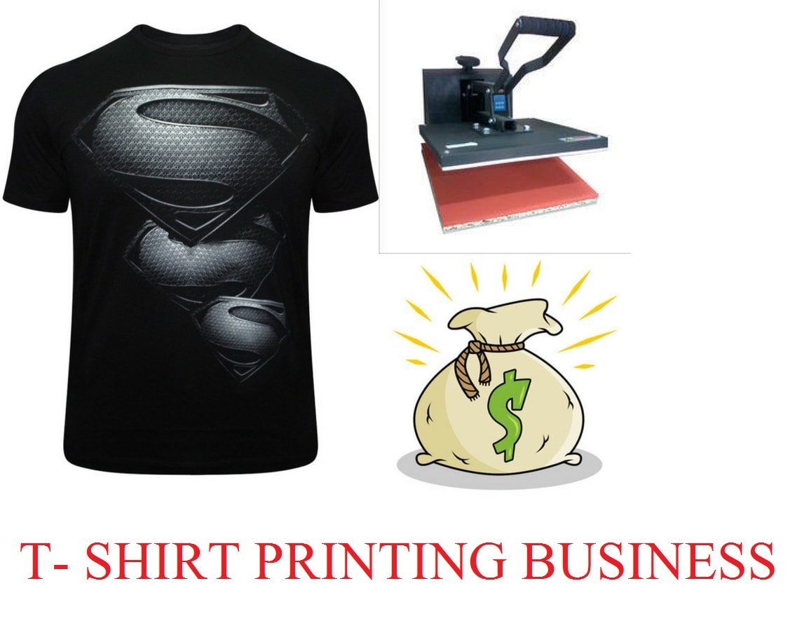 How To Start Your Own T- Shirt Printing Business At Home - Assention