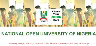 NOUN Undergraduate Admission Requirements | NOUN Courses Accredited by NUC
