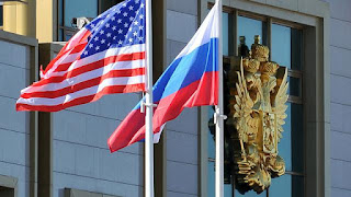 Bendera Amerika Serikat - Rusia