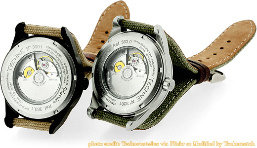 Techné Harrier Ref. 363 (Miyota 9015), versions 132 & 031 photo credit by Technewatches