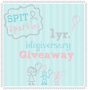Spit and Sparkles is turning one! Join the fun as a sponsor or enter to #win March 20 - 30!