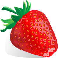strawberry fruit icons 1