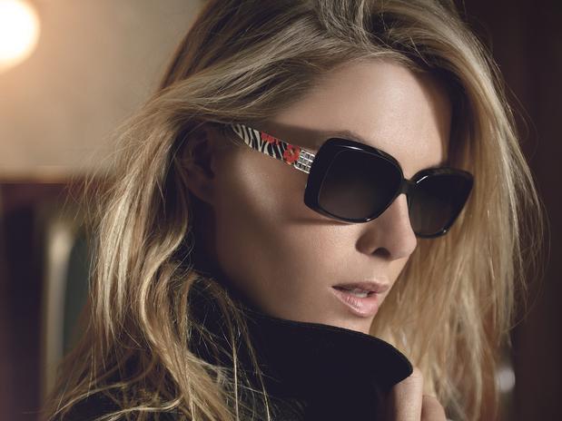 64bc2deb97b2e Uma Vida Perfeita  Coleção de Óculos Ana Hickmann 2013