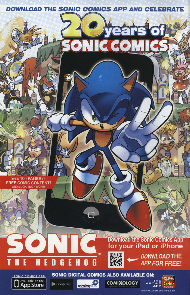 Read online Sonic The Hedgehog comic -  Issue #249 - 2
