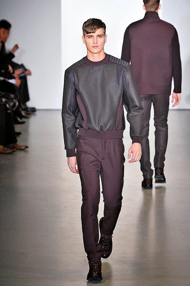 704877c6b45fd Semana de Moda Masculina de Milão  Calvin Klein outono inverno 2013 ...