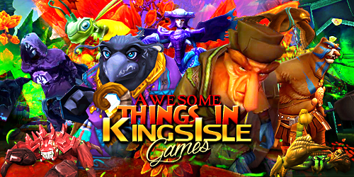 Frostcaller: Awesome Things in KingsIsle Games