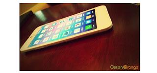 Green Orange N1,Ponsel Android,Ponsel tertipis