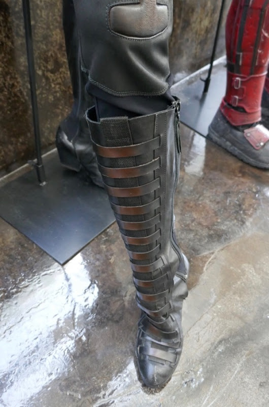 Deadpool 2 Domino costume boot