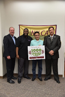 "The 1,000th graduate was Jesus ""Manny"" Estrada, director of Corrections Health Services for Jackson Health Services in Miami-Dade Corrections and Rehabilitation Department"