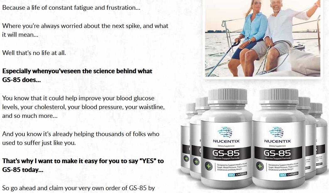 Blood Pressure GS 85