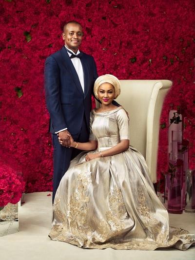 At Last, Nigeria's First Family UNVEILS Zahra Buhari's Endorsed Pre-Wedding Photo
