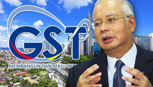 Semakin ramai rakyat terima baik GST, kata Najib