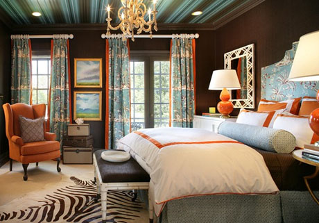 Eye For Design: Decorating With Orange......It - Turquise And Orange Home Decor's A Great Color For ...