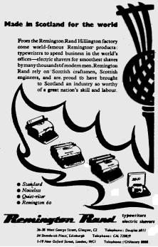 oz.Typewriter: Oh Flower of Scotland: A Remington Rand