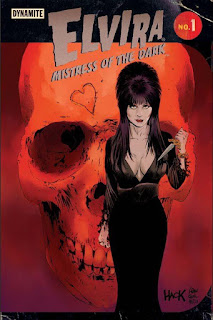 Dynamite's Elvira Mistress of the Dark #1 cover