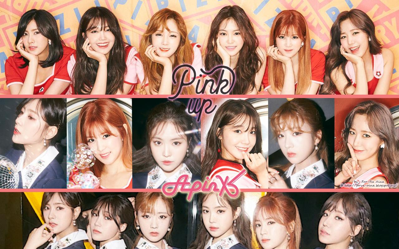 K Pop Lover Apink Pink Up Wallpaper