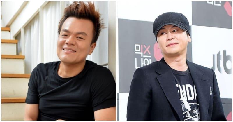 JY Park, Yang Hyun Suk,