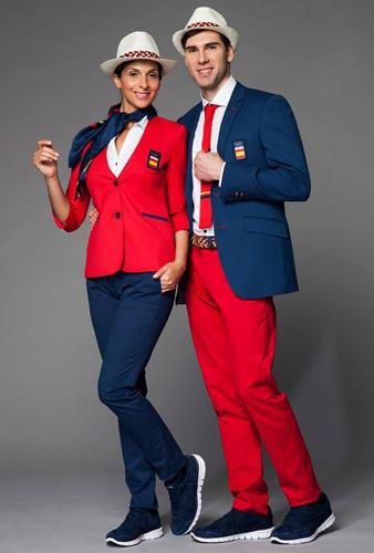 Colección de la equipación Olímpica española de Joma para los juegos de Rio de Janeiro 2016