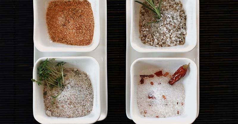 wolkenfees k chenwerkstatt gew rzsalze selbst herstellen currysalz sel de provence chilisalz. Black Bedroom Furniture Sets. Home Design Ideas