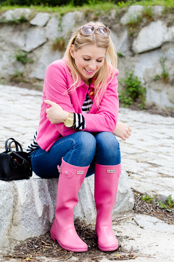 Wear pink - blondhairpinkheart