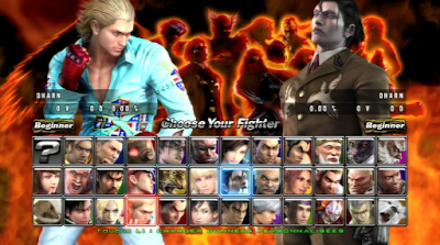 Download Game Tekken 5 Dark Resurrection PPSSPP Full Version Ukuran Kecil
