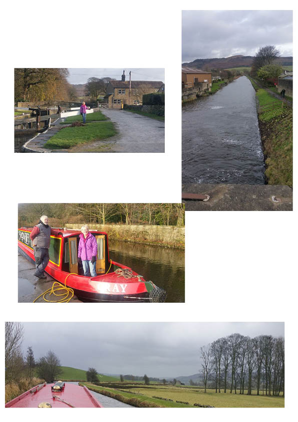 End of our first leg, Gargrave, and my interactions with a water board lady