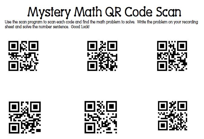 Mrs. Samuelson's Swamp Frogs: Mystery Math QR Code Scanning