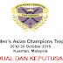 Kedudukan dan Keputusan Hoki Trofi Juara-Juara Asia 2016