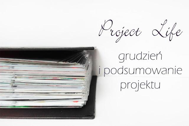 Project life w grudniu + małe podsumowanie