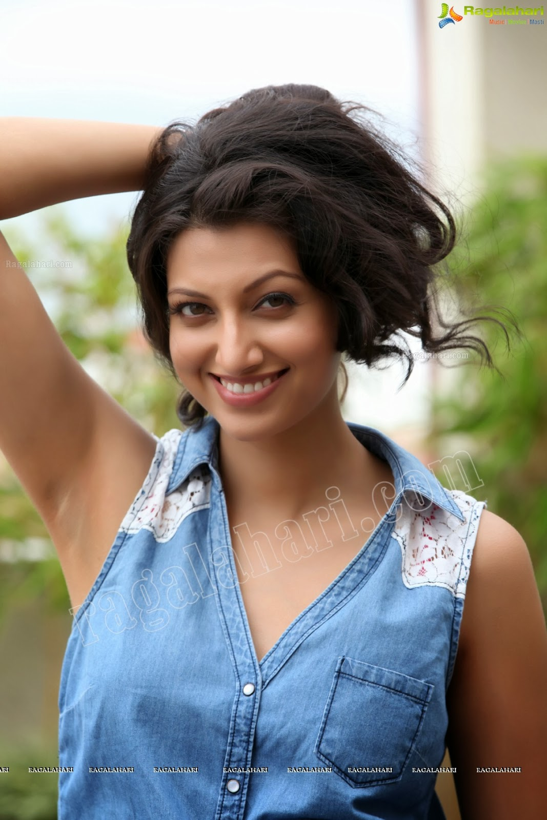 Armpit Actress Photo Hamsa Nandini Hot Sexy Sleevless -1608