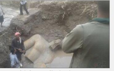 رئيس البعثة الالمانية يؤكد صحة طريقة نقل تمثال رمسيس